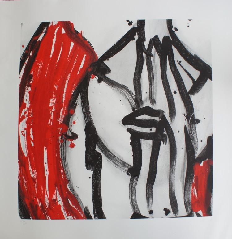Art Alarm – Adam Lude Döring, Rote Haare, 2009, Serigrafie, ca. 70 × 70 cm
