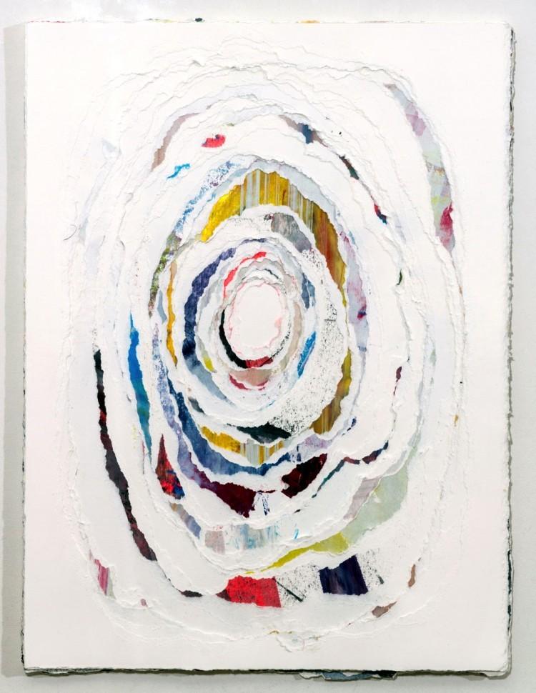 Art Alarm – Andrea Myers, white hollow, 40 x 30 cm, 2018, Papier