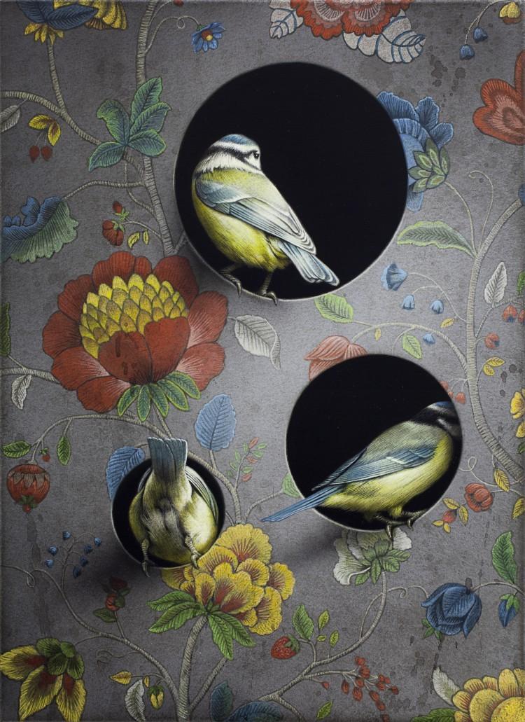 Art Alarm – Eckart Hahn: Paradies, 2019, Acryl auf Leinwand, 55 x 40 cm