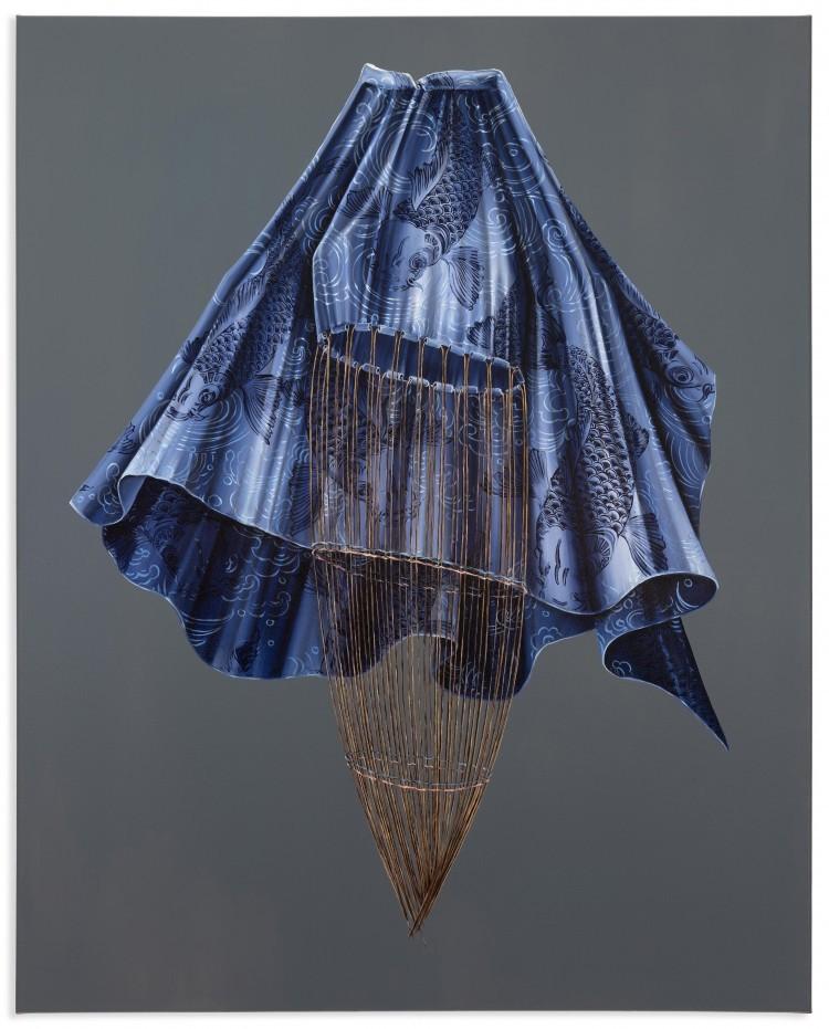 Art Alarm – Mona Ardeleanu, Fade 2021 / I, 2021, Öl auf Leinwand, 100 x 80 cm